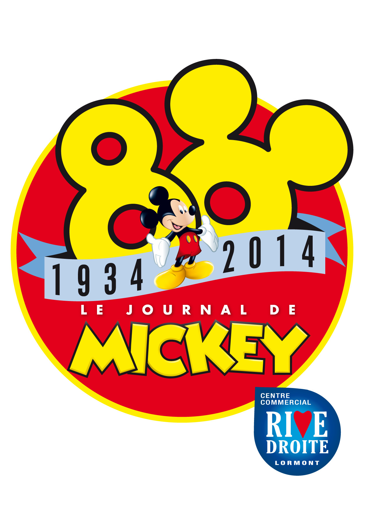 80 ans Journal de Mickey