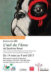 Sandrine Revel exposition BD L'Oeil de l'âme