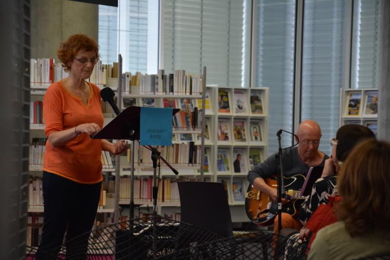 Serge Korjanevski et Sophie Robin font vivre les mots des lecteurs et des auteurs.
