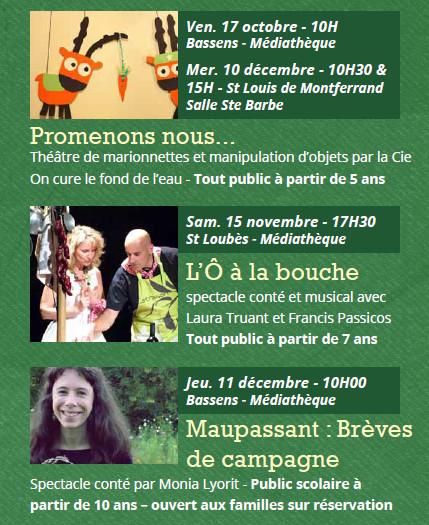 Programme Presqu'île en pages 2014