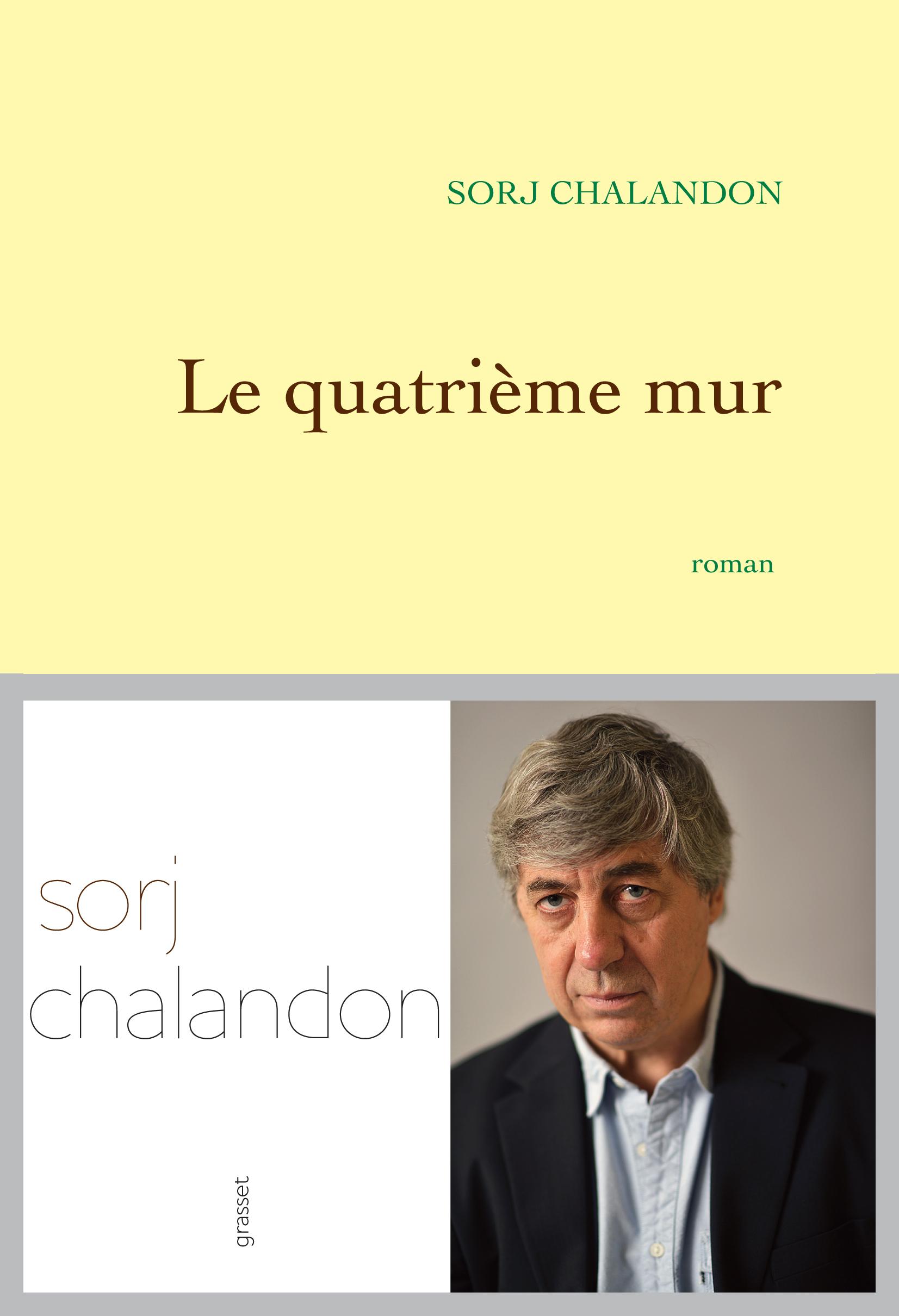 Sorj Salandon Le Quatrième mur Prix des lecteurs Escale du Livre 2014