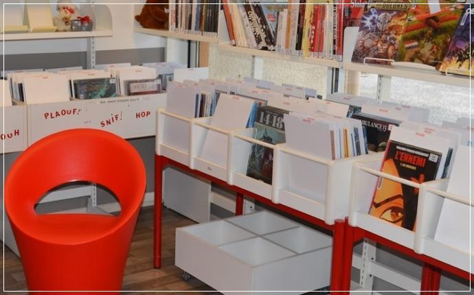 Bibliothèque Municipale - espace BD Adultes