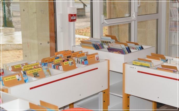 Bibliothèque Municipale - espace BD Enfants
