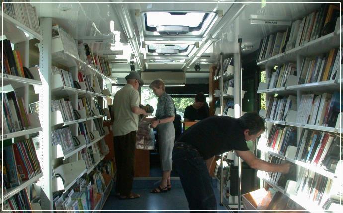 Bibliothèque mobile - Bordeaux