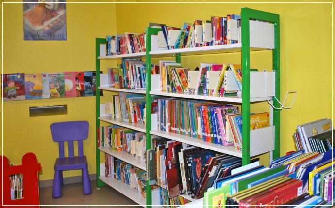 bibliothèque parempuyre