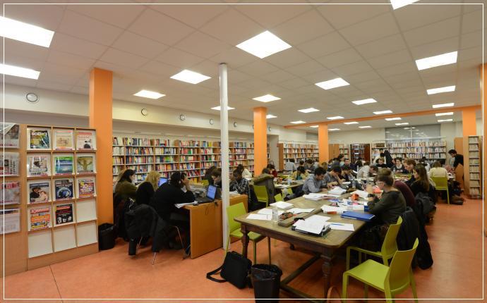 BU pluridisciplinaire - Bordeaux
