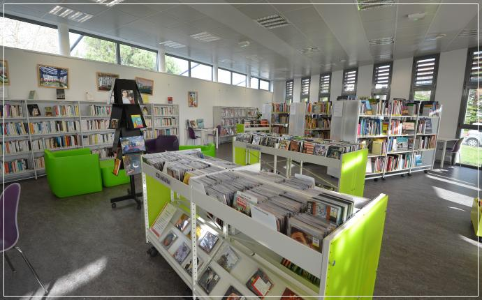 Bibliothèque du Burck  Mérignac  Portail des