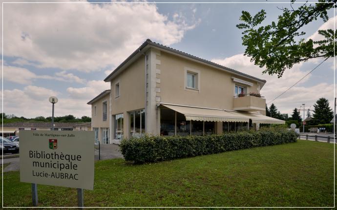 Bibliothèque Lucie Aubrac de Martignas-sur-Jalle