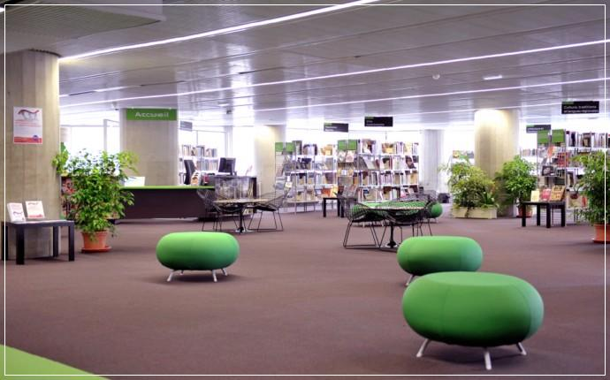 Bibliothèque Mériadeck Bordeaux
