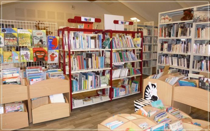 Bibliothèque Municipale - espace Albums enfants