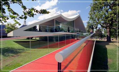 Serpentine Pavilion Oscar Niemeyer