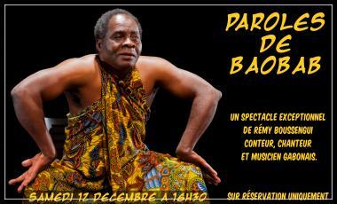 Parole de Baobab Remy Boussengui