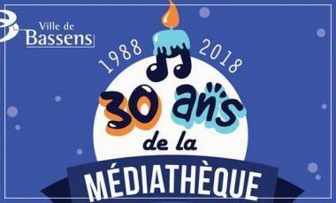 30 ans médiathèque