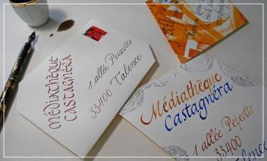 Talence/calligraphie/atelier