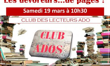 club lecteurs ado