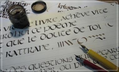 Talence / Calligraphie / Atelier créatif