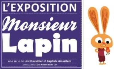 Talence / Mr Lapin / Exposition