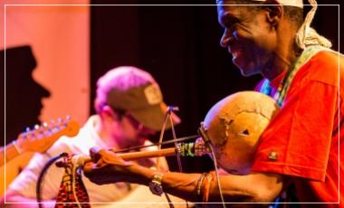 Talence / instruments africains Mussa Molo / rencontre musicale