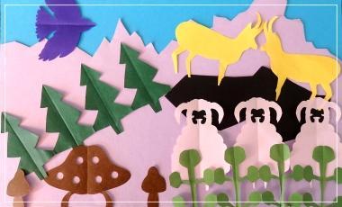 Talence / Origami et Kirigami / Atelier