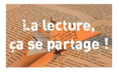 La lecture, ça se partage !