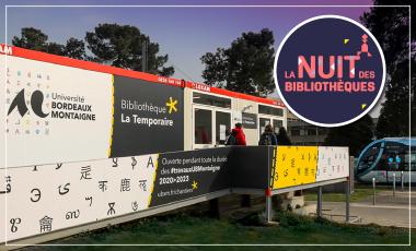 La Nuit des Bibliothèques de Bordeaux Métropole - 5e édition - Évènement à BU La Temporaire (Pessac)