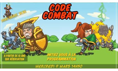 Mercredis 10/10 Code Combat