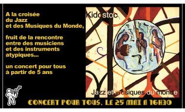 Consert Kidostoc Jazz Musiques du Monde