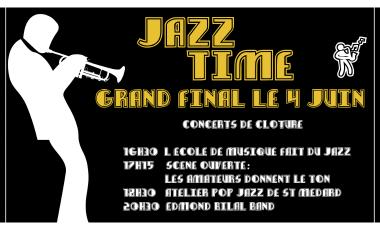 Jazz Time Concerts Cloture