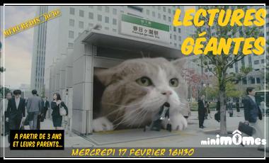 Mercredis 10/10 Lectures Géantes
