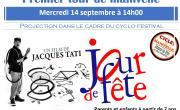 """Projection """"Jour de fête"""" de J. Tati"""