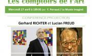 Les comptoirs de l'Art: Richter et Freud