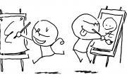 Battle de dessin