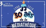 La médiathèque fête ses 30 ans!