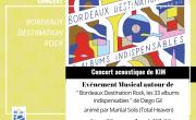 Concert de Kim- Bordeaux destination Rock!