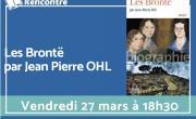 « Les Brontë » rencontre avec l'auteur Jean-Pierre Ohl