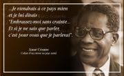 """Aimé Césaire """"J'ai apporté une parole d'homme"""""""