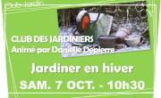 Club des Jardiniers: Jardiner en hiver