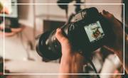 Atelier et table ronde photographie sur l'application Snapseed