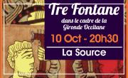 Concert du Groupe Tre Fontane
