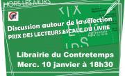 Prix Escale à la Librairie du Contretemps