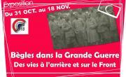 Bègles dans la Grande Guerre, visites de l'exposition