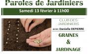 Paroles de jardiniers: les graines