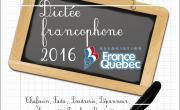 Dictée Francophone France-Québec