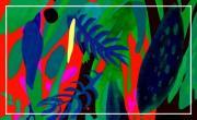 """Jungled """"Du vert, des cimes, et quelques oranges"""" ~ Ludovic Jacqz"""