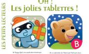 Oh! Les jolies tablettes!