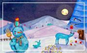 Boules de neige au clair de lune / Lisa Bèl