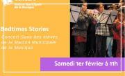 Bedtimes Stories, concert de saxo des élèves de la Maison Municipale de la Musique