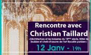 Rencontre avec Christian Taillard