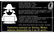 Mission secrète au Taillan
