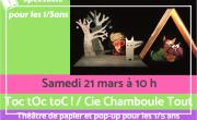 Toc tOc toC! Théatre de papier et pop-up